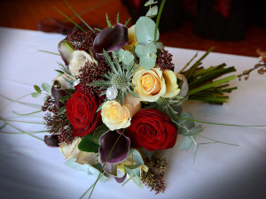 Winter Hand Tied Posy