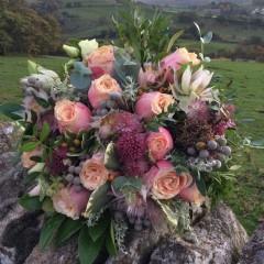 bridal posy spring